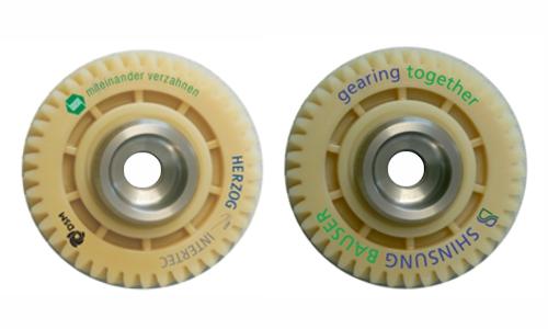 Bedrucken von Kunststoff bei Posprint Bedruckungen, Beispielbild