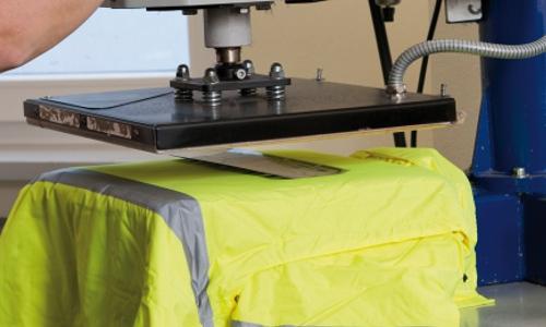 Textildruck bei Posprint Bedruckungen, Beispielbild