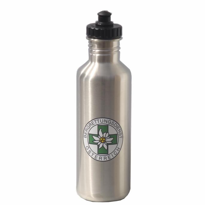 Siebdruck auf Edelstahlflasche